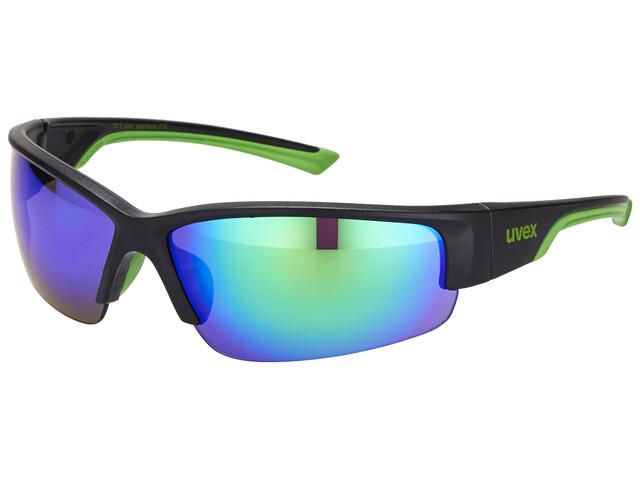 UVEX sportstyle 215 Glasses black mat green